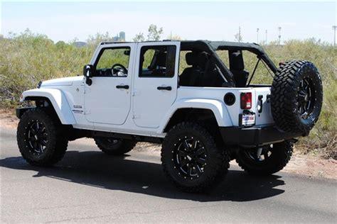 jeep lifted white jeep wrangler rubicon lifted white www pixshark com