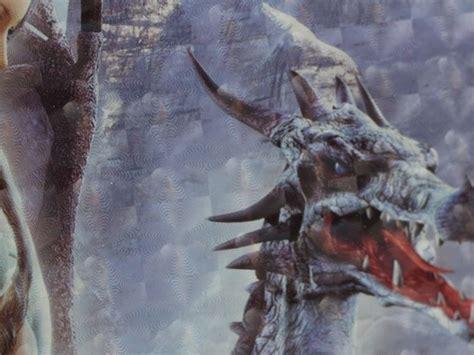 tapis de souris fantasy dragon de glace  jeune elfe