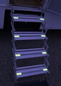 "Torklift Truck Camper Glow Steps, 5-Step, 8"" Width, A7805"
