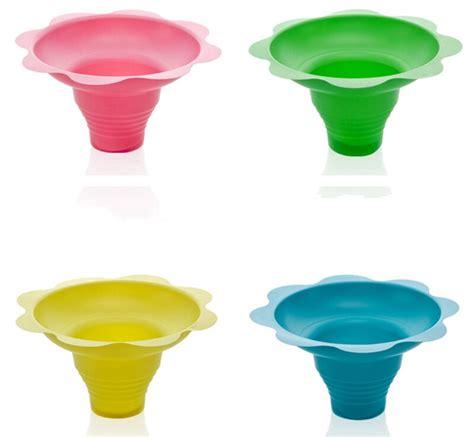 ps ml flower shape cups bowls disposable plastic