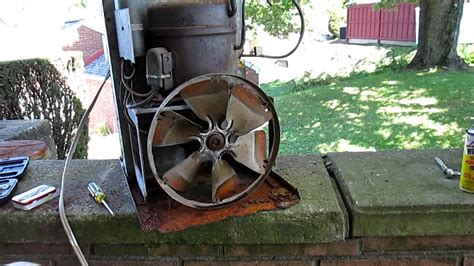 scrapping  window air conditioner youtube