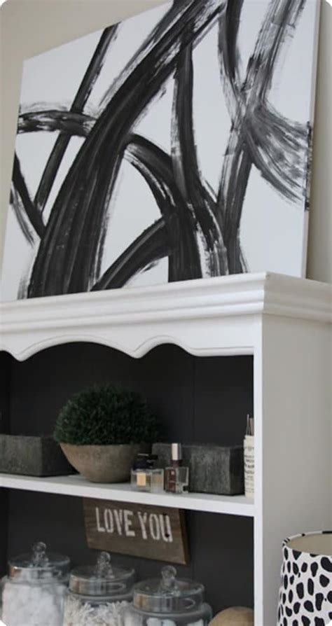 black  white abstract wall art knockoffdecorcom