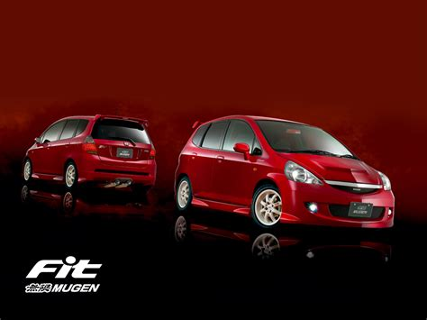 wallpaper honda fit mugen car modification review car