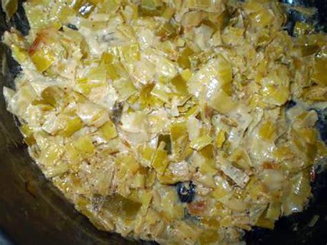 recette de poireaux 224 la moutarde et 224 la cr 232 me