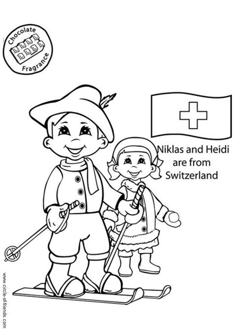 coloring page niklas and heidi from switzerland img 5641