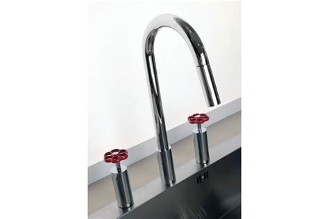 gessi kitchen faucets the gessi oxygene high tech kitchen faucet features