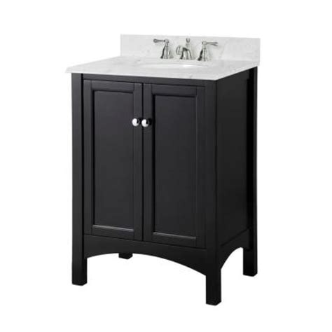 18 Inch Bathroom Vanity Home Depot by Foremost 24 In W X 18 In D X 34 In H Vanity