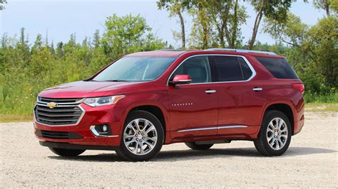 2018 Chevy Traverse First Drive Go Big And Go Home