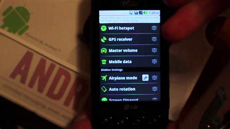 how to to phone wifi hotspot enable lg optimus v wireless spot