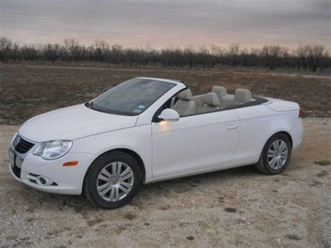 Find Used 2008 Vw Eos Komfort, Convertible Hardtop, Turbo