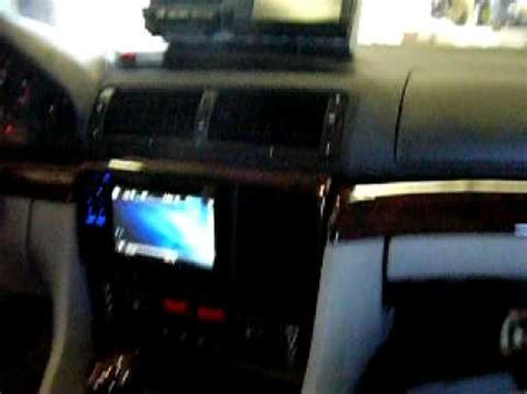 bmw  il pioneer dvd bluetooth navigation install youtube
