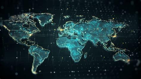 futuristic high tech video  stock footage video