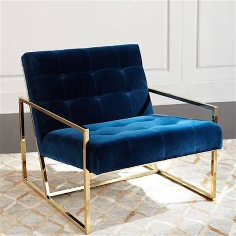gold frame chair search living room