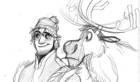 Kristoff And Sven By Zpephungz On Deviantart