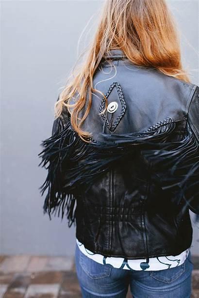 Woman Nasty Still Jojotastic Leather Biker Jacket