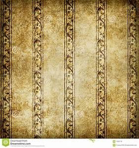 Alte Tapeten Ablösen : alte tapete stock abbildung illustration von golden ~ Watch28wear.com Haus und Dekorationen