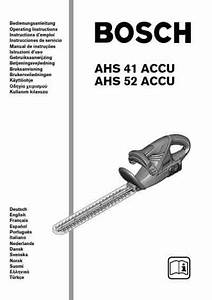 Bosch Ahs 52 Accu Tools Download Manual For Free Now