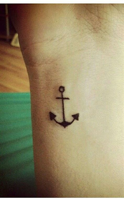 Small Anchor Tattoo  Tattoo Ideas