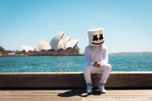 flowers for birthday marshmello dj hd wallpapers