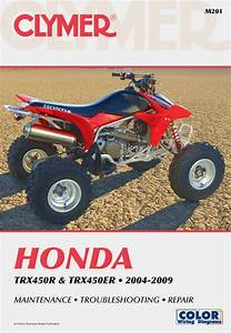 Honda Trx450 Series Atv  2004