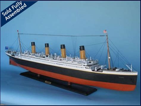 Titanic Movie Boat Model by Titanic Model Boat Plans Rans