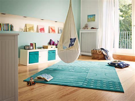 tapis de chambre tapis pour chambre de fille turquoise and stripes esprit home