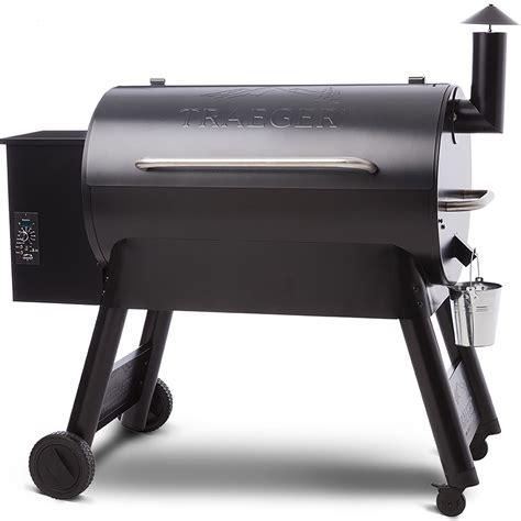 traeger blue pro series  wood pellet grill tfbpub