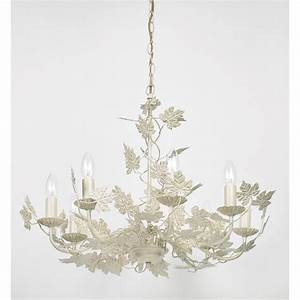 Light pendant in a classic leaf design gold