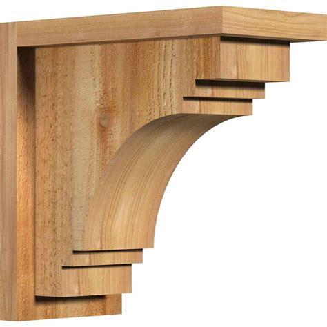 House Corbels by Ekena Millwork 6 In X 12 In X 12 In Western Cedar