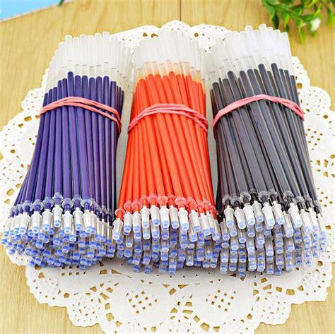 Office Supplies In Bulk by 100 Pcs Lot Gel Pen Refill Wholesale Pen Ink Bullet