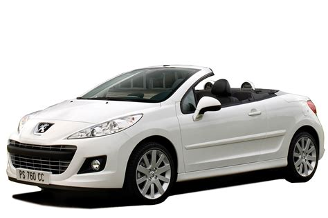 peugeot company car peugeot 207 cc cabriolet review carbuyer