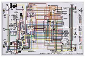 Electrical Wiring Diagram 1973 Chevy Chevelle