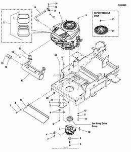 Simplicity 5900662   50 U0026quot  Mower