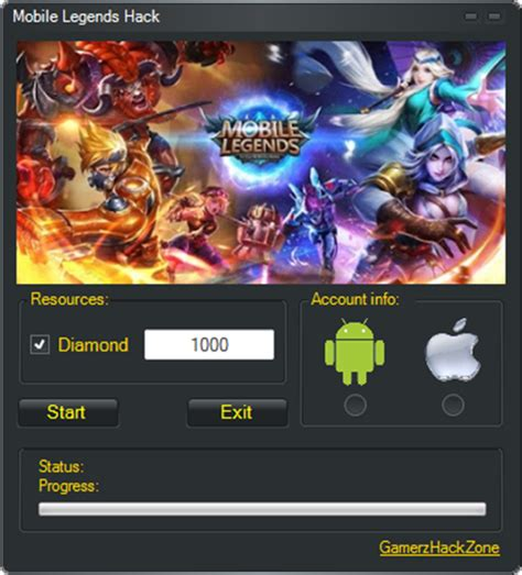 mobile legends hack  android apk ios ipa cheats
