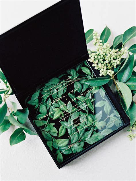 trending  boxed wedding invitations martha stewart