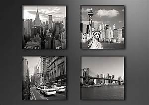 Leinwandbilder Schwarz Weiß : new york schwarz weiss ~ Markanthonyermac.com Haus und Dekorationen