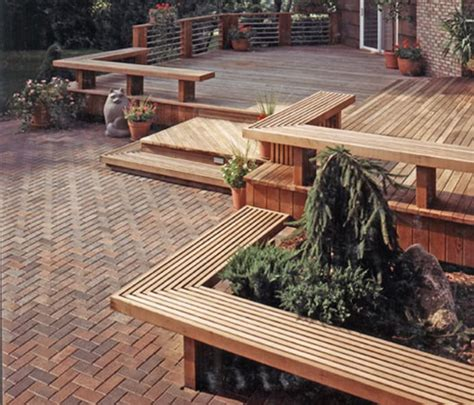 Patio Deck by Enjoy Your Outdoors More With A Beautiful Deck Designrulz
