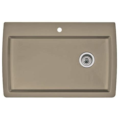 blanco granite kitchen sink blanco dual mount granite composite 32 5 in 1 4777