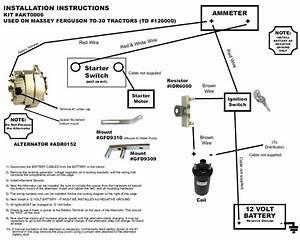 Massey Ferguson Wiring Diagram Pdf