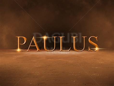 powerpoint vorlage paulus