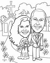 Coloring Groom Bride Anniversary Engagement Personalized Clipart Couple Printable Library Weddings Romantic Clip Azcoloring Popular Template Coloringhome Personal Gift Caricatures sketch template