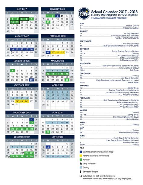 calendar episd calendar