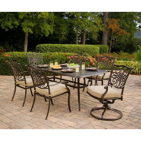 hanover traditions 7 patio outdoor dining set with 4