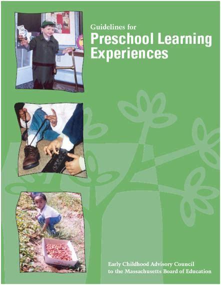 mass preschool using the massachusetts guidelines for preschool learning 108