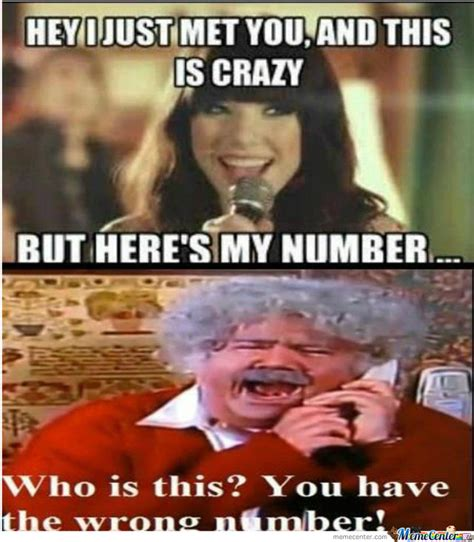 Wrong Number Meme - wrong number by toxicsquirlz meme center