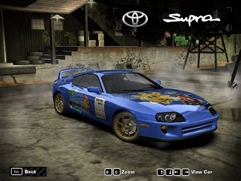 speed  wanted toyota supra super mario