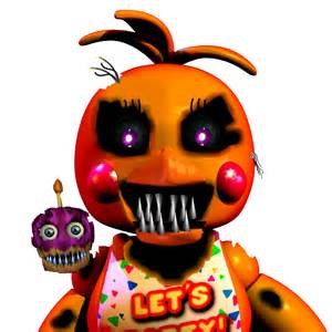 Chica Nightmare Toy
