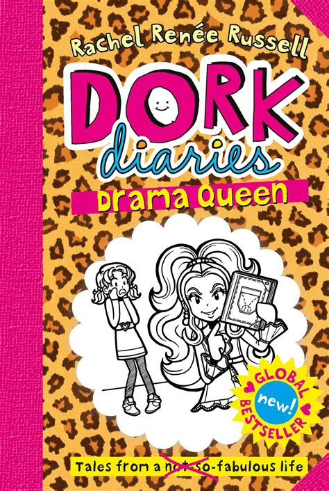 Dork Diaries Drama Queen  Book By Rachel Renee Russell