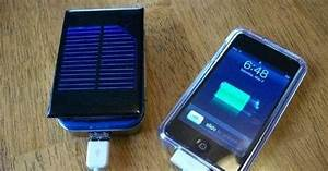 Making A Solar Energy Powered An Iphone Battery Charger