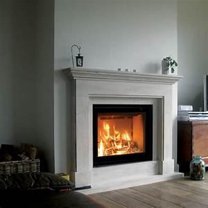 Tour De Cheminée : cheminee insert bois ~ Nature-et-papiers.com Idées de Décoration